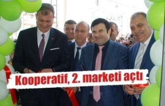 Tire Süt Kooperatifi, 2. Marketini açtı