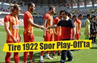Tire 1922 Spor Play-Off'ta