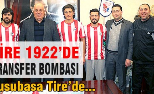 Tire 1922'de Transfer Bombası