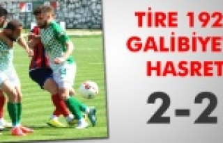 Tire galibiyeti unuttu 2-2